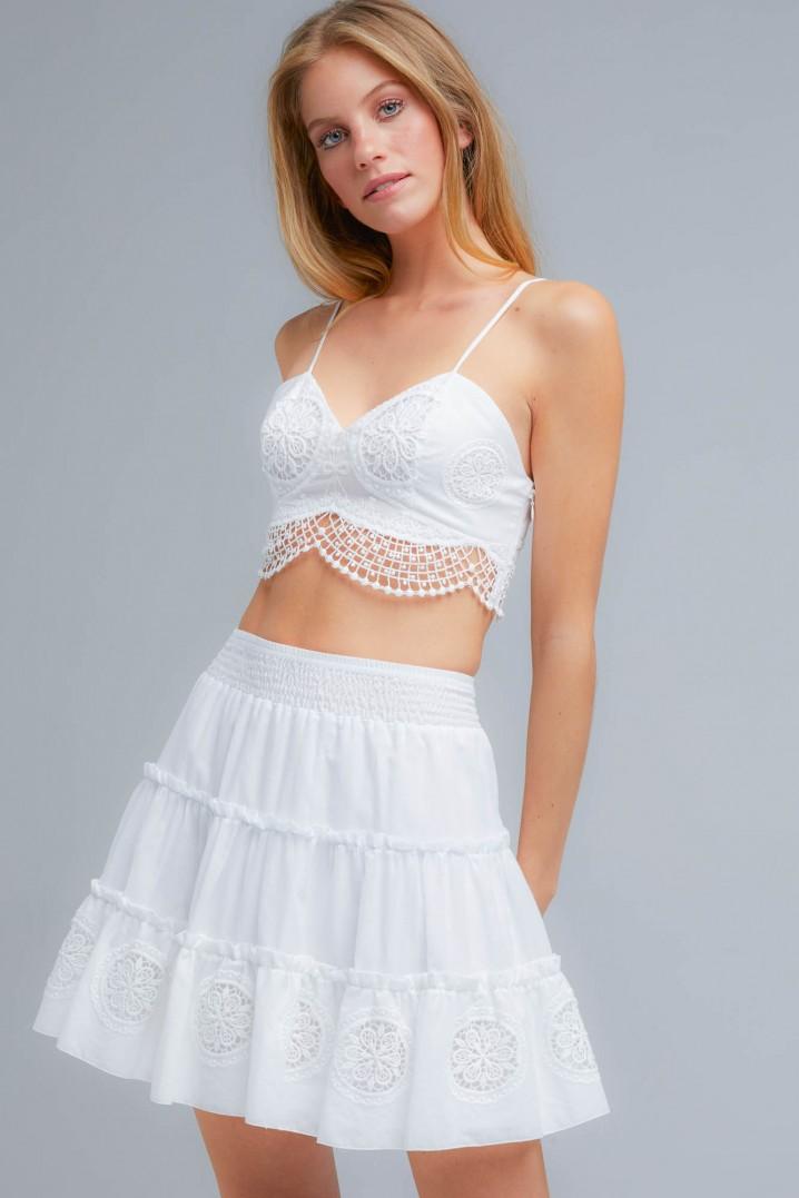 Pam Short Skirt