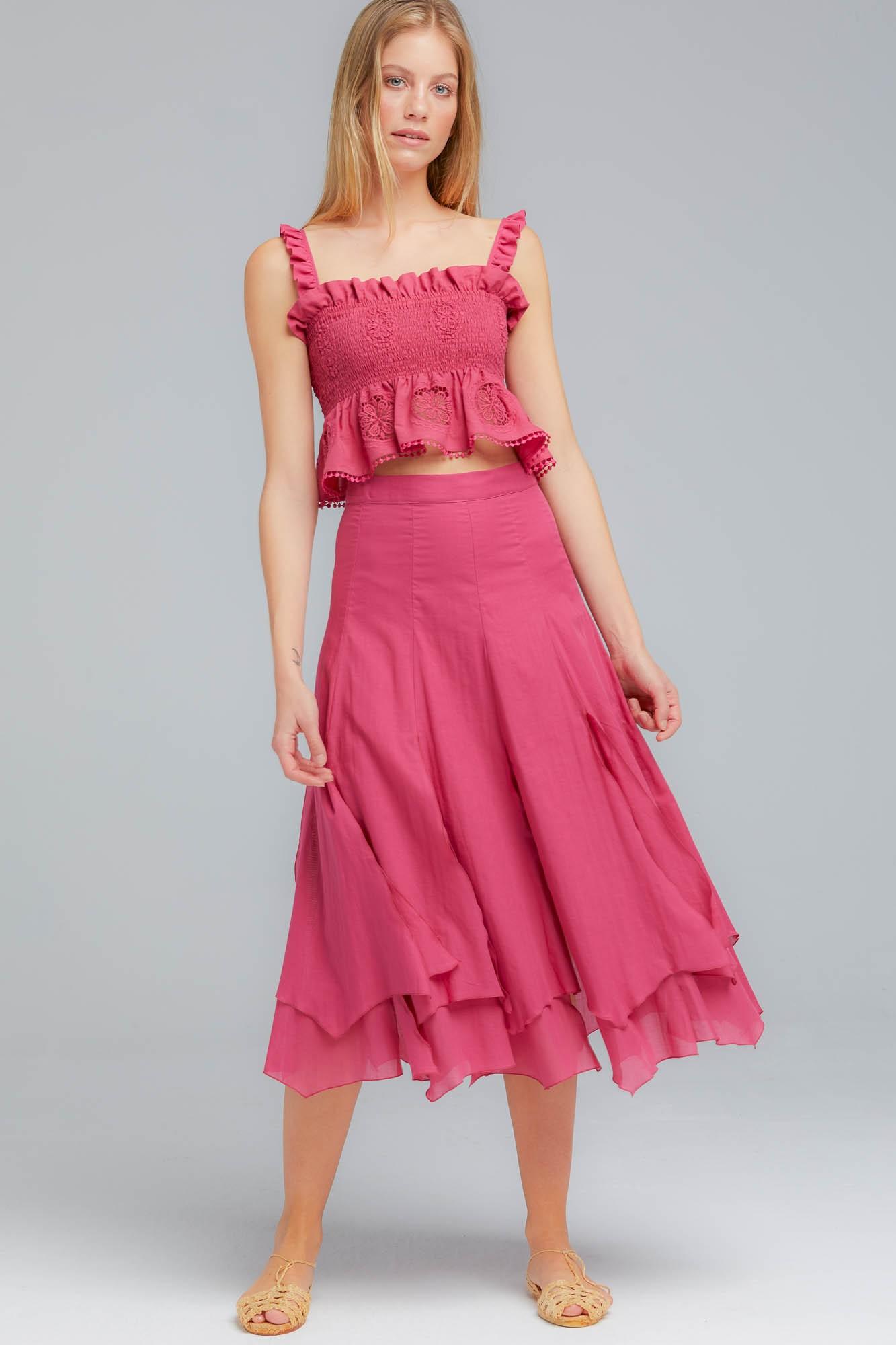 Liza Midi Skirt