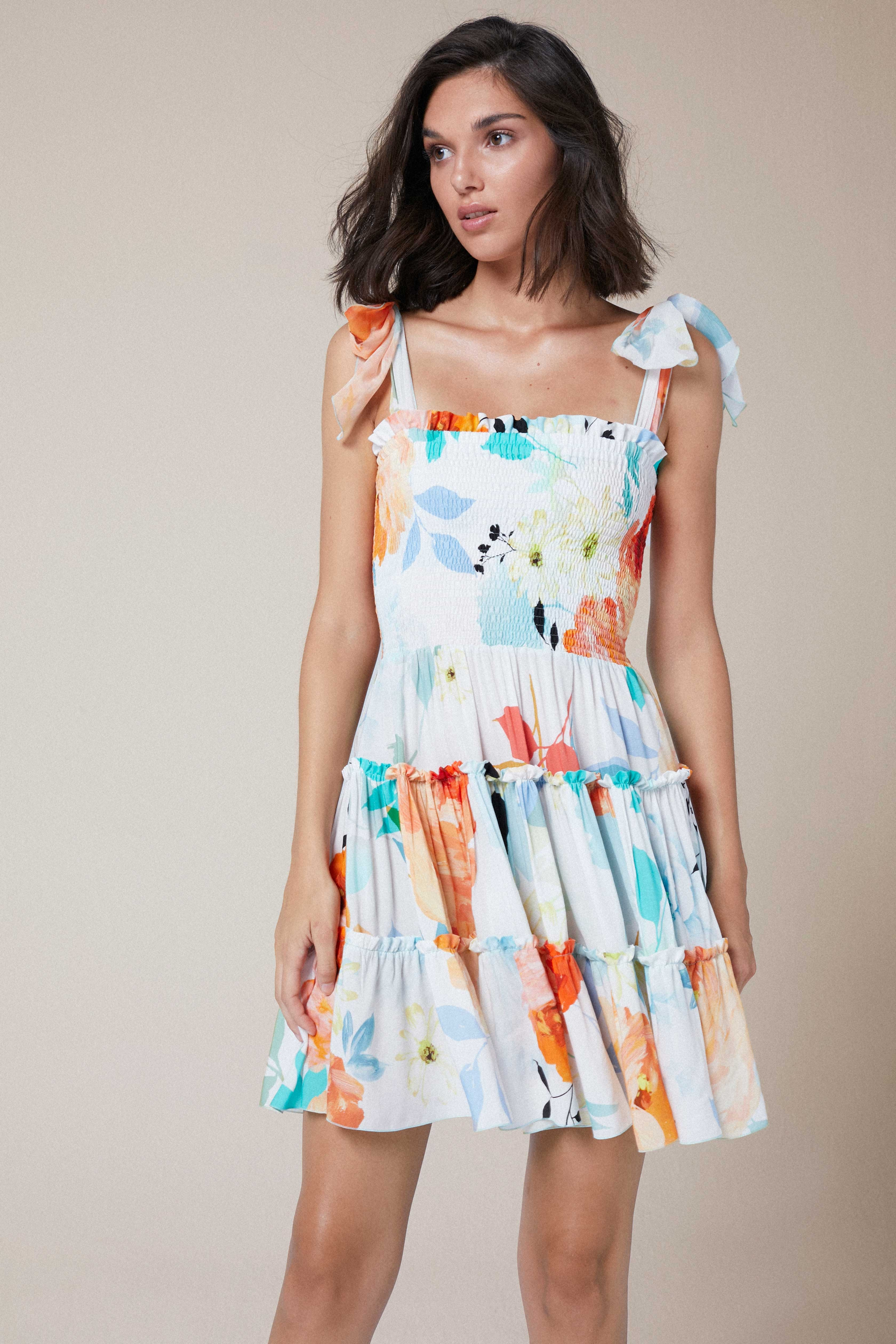 Leah Dress Maxibloom