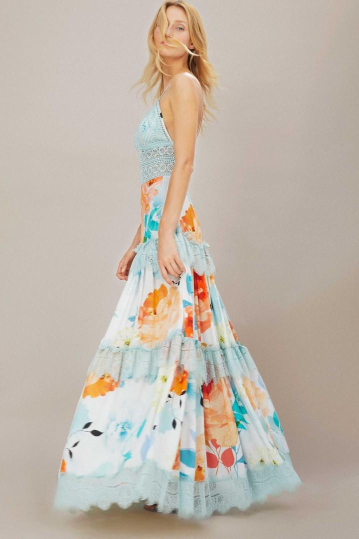 Vestido Dama maxibloom